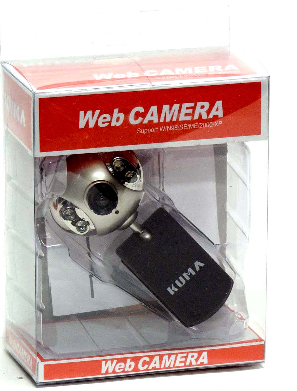 Kuma 'Clip-on' VGA Web-Camera - USB 2.0 Connection